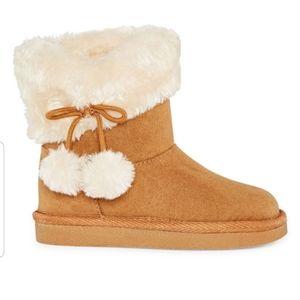 Okie Dokie NWT Amber Cognac Girl Boots Sz 3